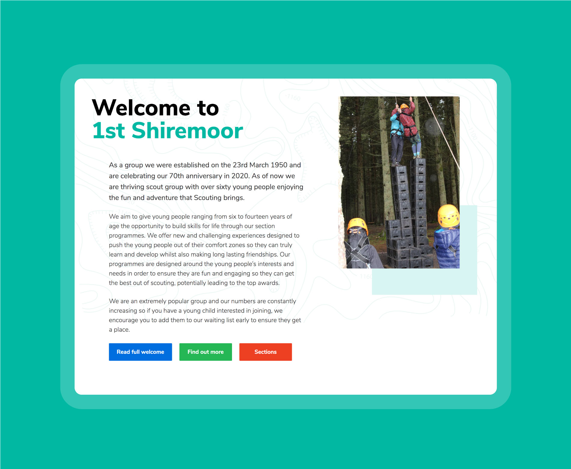 1st Shiremoor Scout Group homepage