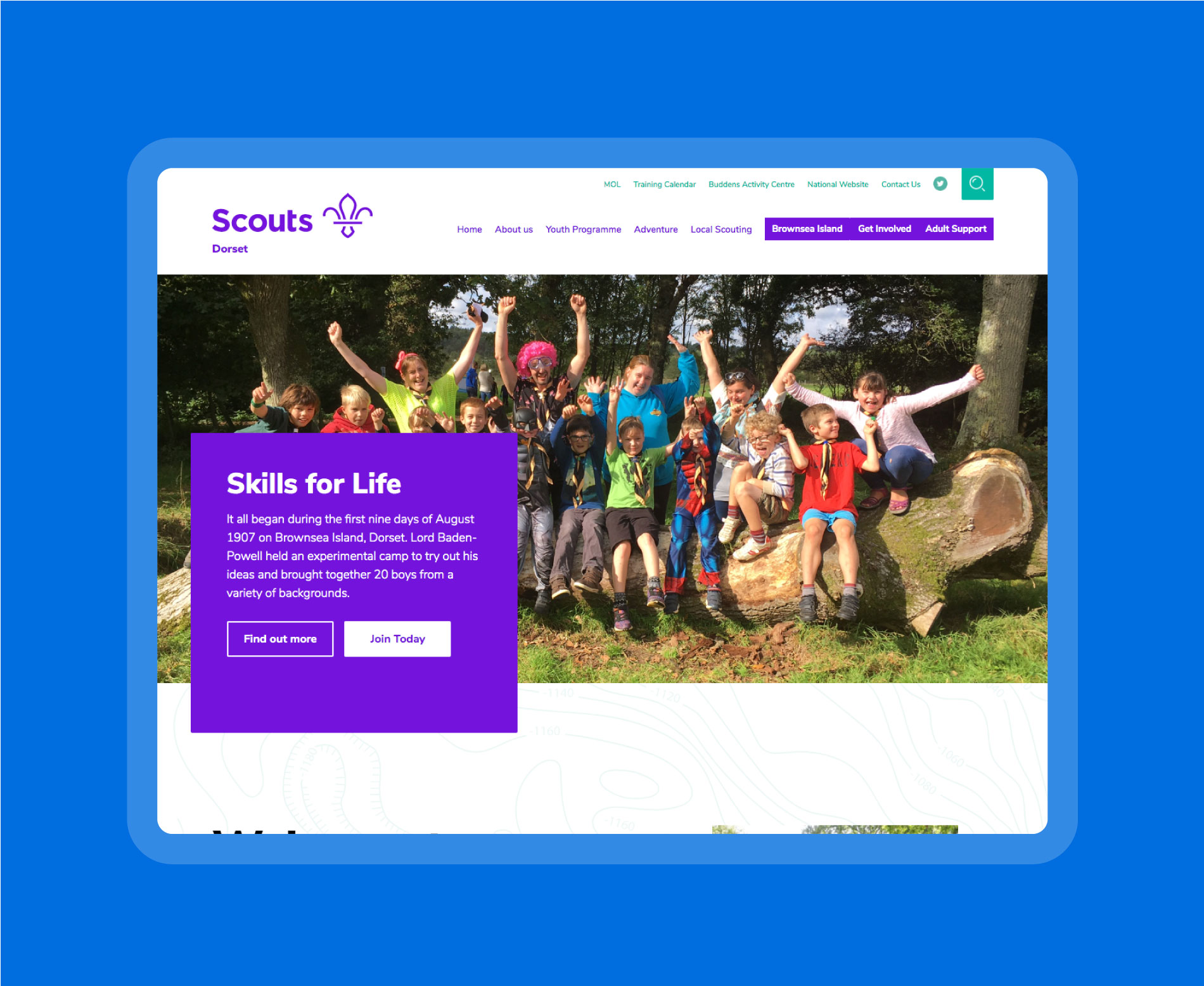 Dorset Scouts is home to over 6,500 boys and girls aged between 6 and 25.