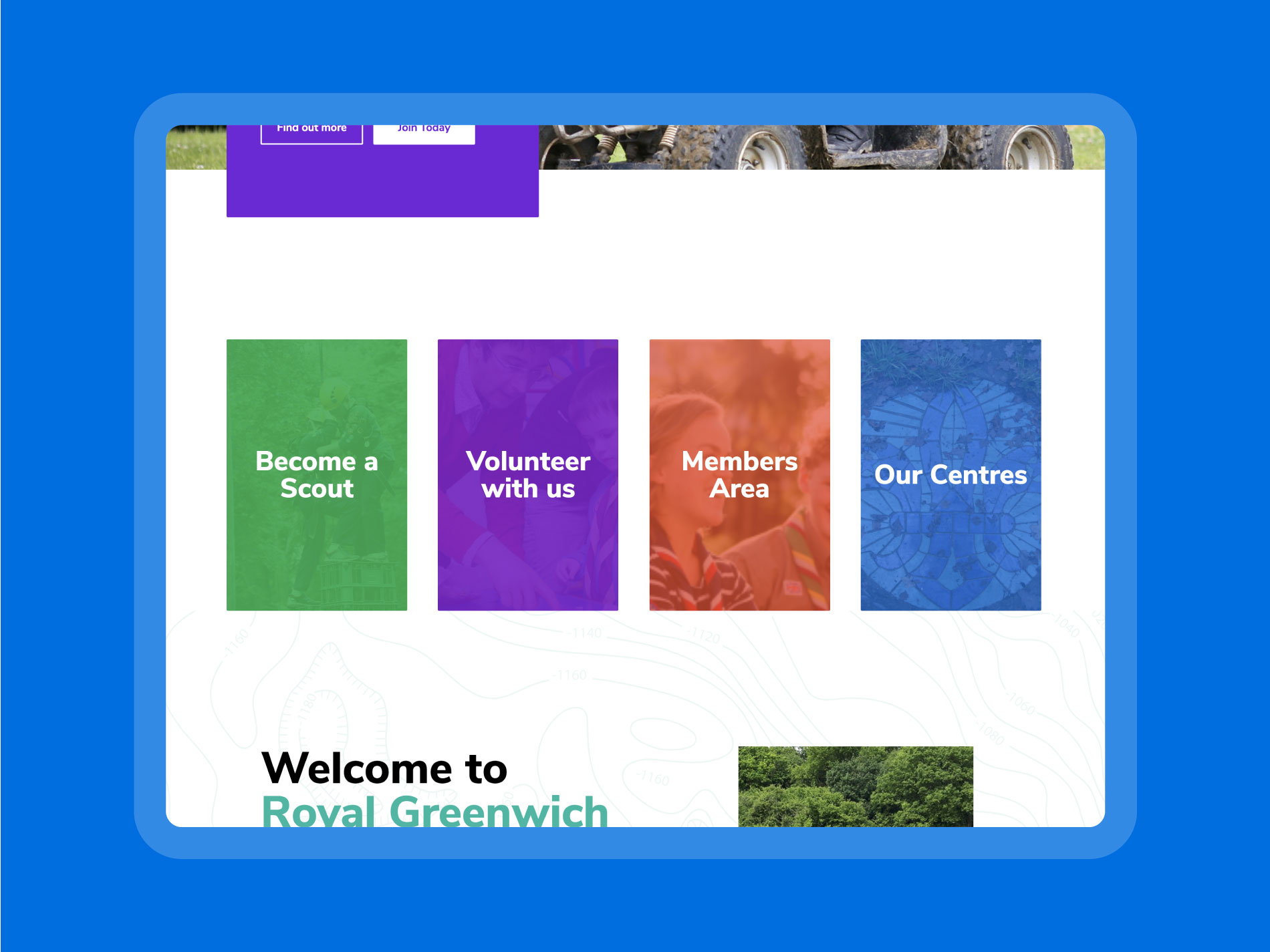 Use your website to its full extent to aid recruitment of members and volunteers.